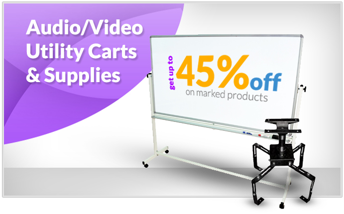 Audio Video Utility Carts