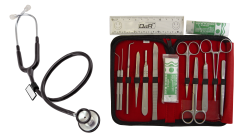 Anatomy Dissection Kit & Stethoscope Package  - 10301GSMC