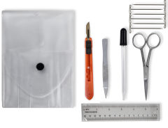 Basic Dissection Kit - Retractable Scalpel - 64NRS