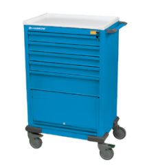 Anesthesia Cart  Five Drawer  Short Shell