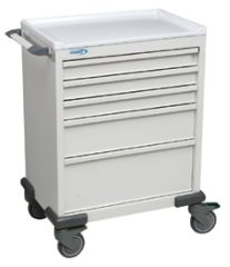 Anesthesia Cart With Five Drawers