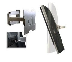 Articulating Wall Arm Mount For 22  - 40  Screens