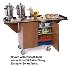 Beverage Service Cart With Drop Leaves