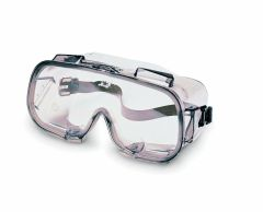 V80 MONOGOGGLE VPC Safety Goggles, Clear/Bronze, Indirect Vent