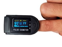 Pulse Oximeter, Fast and Accurate, Vivid OLED Display