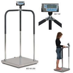 Portable Electric Handrail Medical Scale