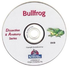 Introduction Guide to Anatomy of the Bullfrog (DVD)