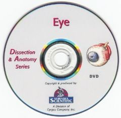 The Dissection & Anatomy of the Eye (DVD)