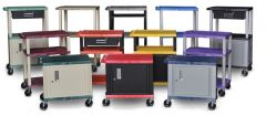 Utility Carts - Adjustable Height   Cabinets